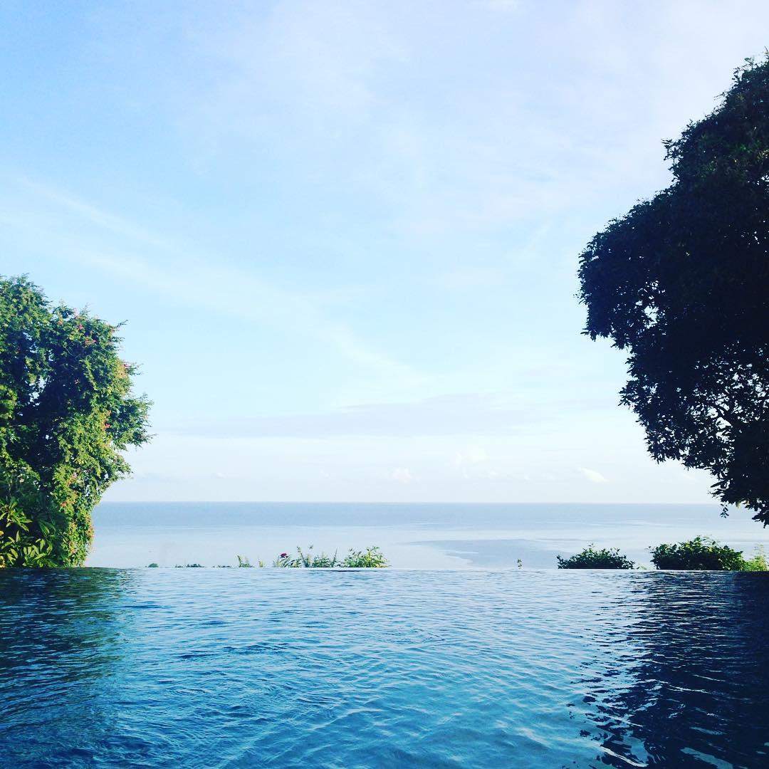 Good morning from Bali!  #peaceful #morning #Bali