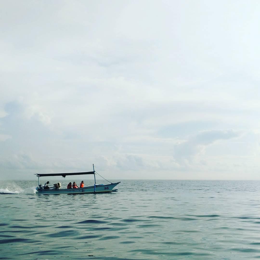 We're all in the same boat, heading somewhere fast.  #studioasobi #lovina #bali  #family #dolphins