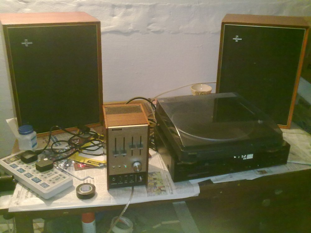 Putting together a music system with vintage components (4/5)