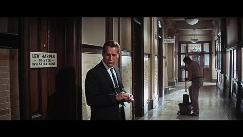 Paul Newman as private eye Lew Harper (2/5)
