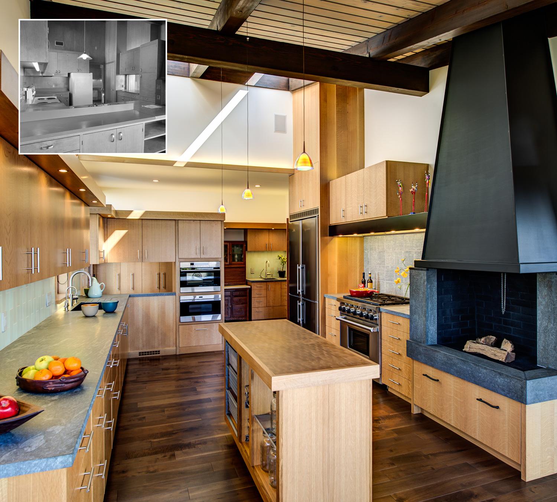 Mid-Century Modern kitchen remodel - Studio Bergtraun ... on Kitchen Remodel Modern  id=99523