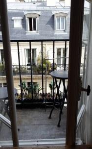 Le balcon de la cuisine