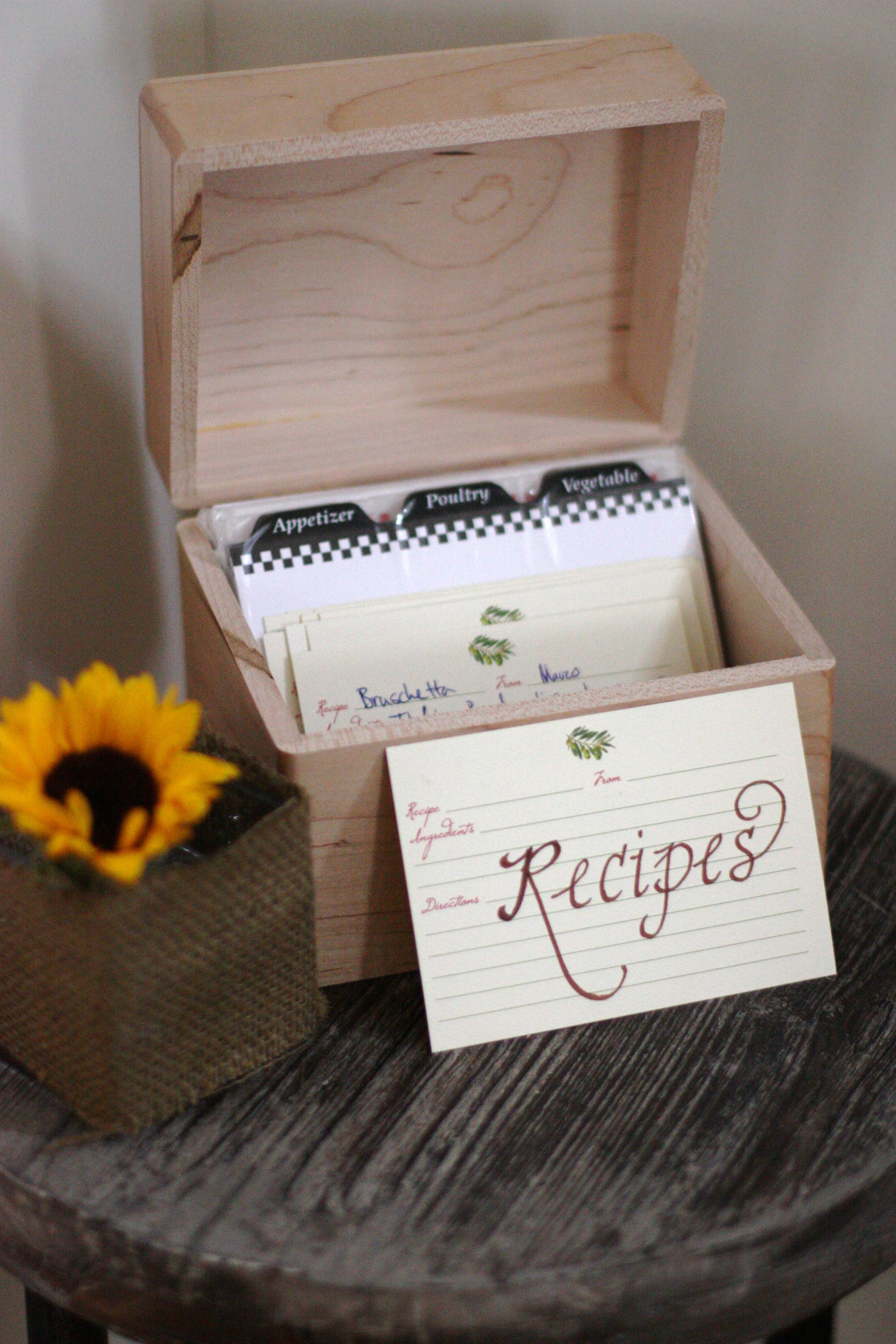 Kitchen Themed Wedding Shower Invitations
