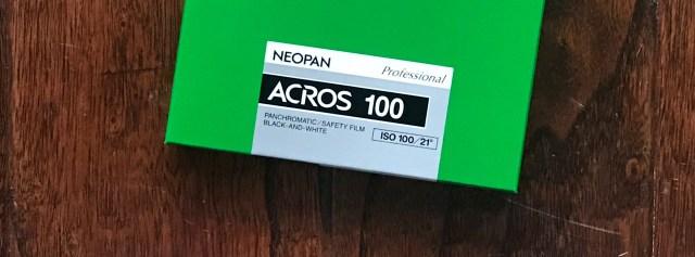Fujifilm Acros 100