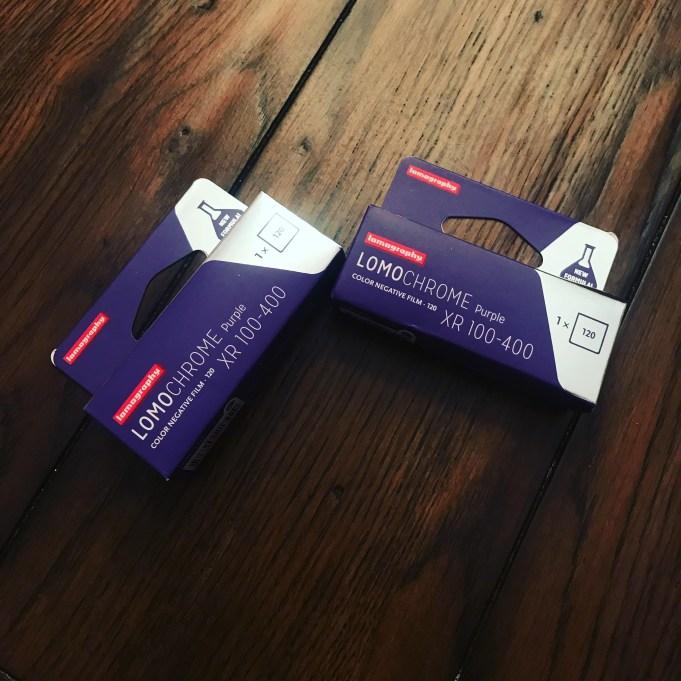Lomochrome Purple Packaging