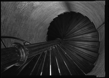 Stairs Inside Cape Lookout Lighthouse, NC, Courtesy National Park Service, Jarob Ortiz
