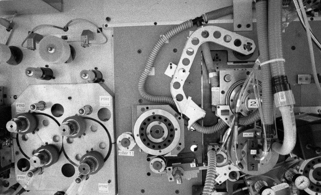 """35mm perforation machine called """"The Heart"""" (TMAX P3200)"""