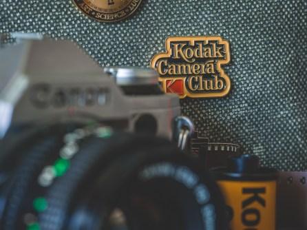 Kodak Camera Club pin