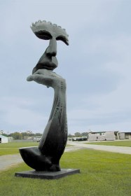 """""""The Thought"""" Bronze ,16'"""