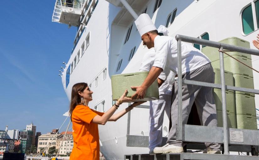 Costa Crociere e Fondazione Banco Alimentare ONLUS portano in mare la lotta allo spreco alimentare
