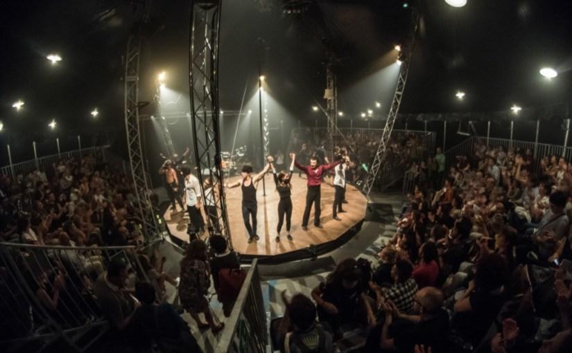 Circo Zoe Circumnavigando Festival Grow Up