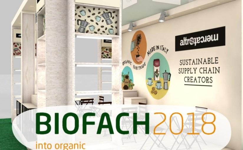 Tutto il biologico fair trade Altromercato al BIOFACH di Norimberga