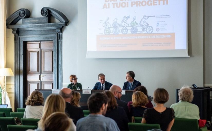 """Fondazione Garrone – Lunedì 22 ottobre lezione aperta del prof. Valerio Melandri """"Diventerò Fundraiser!"""""""