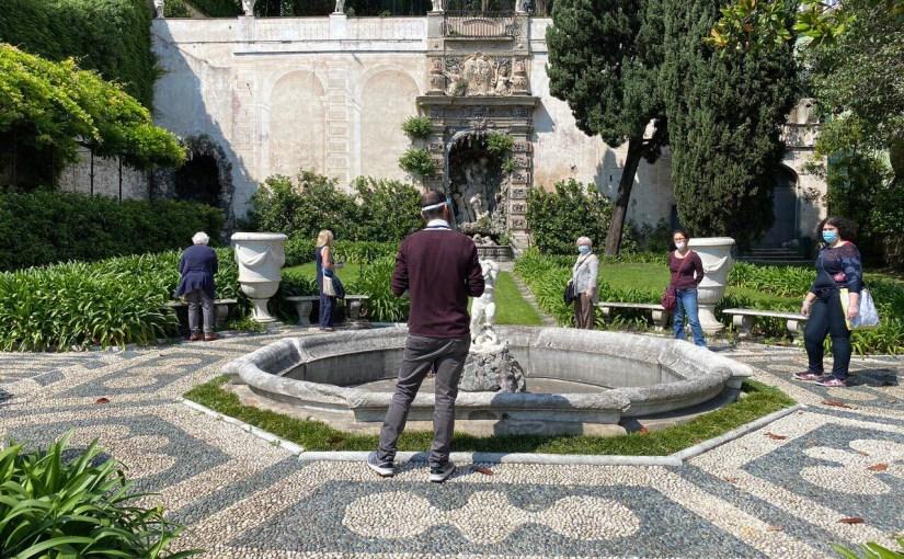 Palazzo Nicolosio Lomellino riapre con successo mascherine