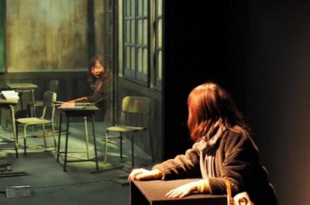 The Classroom, Leandro Erlich - Tel un fantôme, on vient hanter cette classe abandonnée