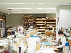 Le centre de restauration des manuscrits