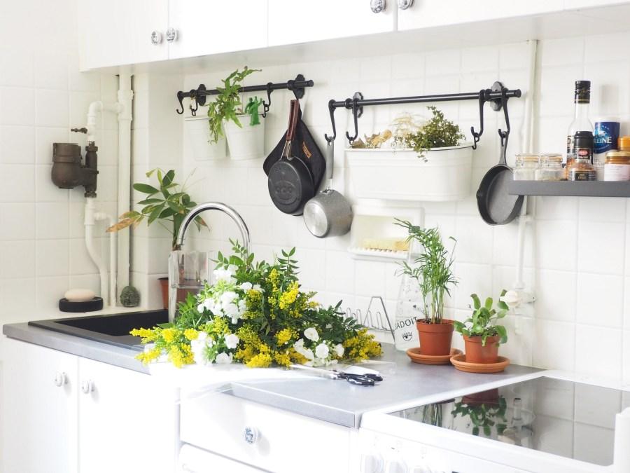 Une cuisine fonctionnelle et lumineuse