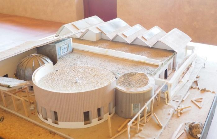Maquette de l'Eco-Centre