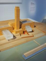 Maquette pour le projet du Tate Modern à Londres