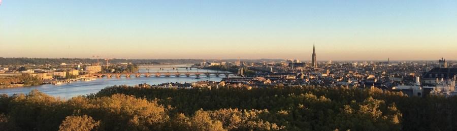 Bordeaux, vu d'en haut