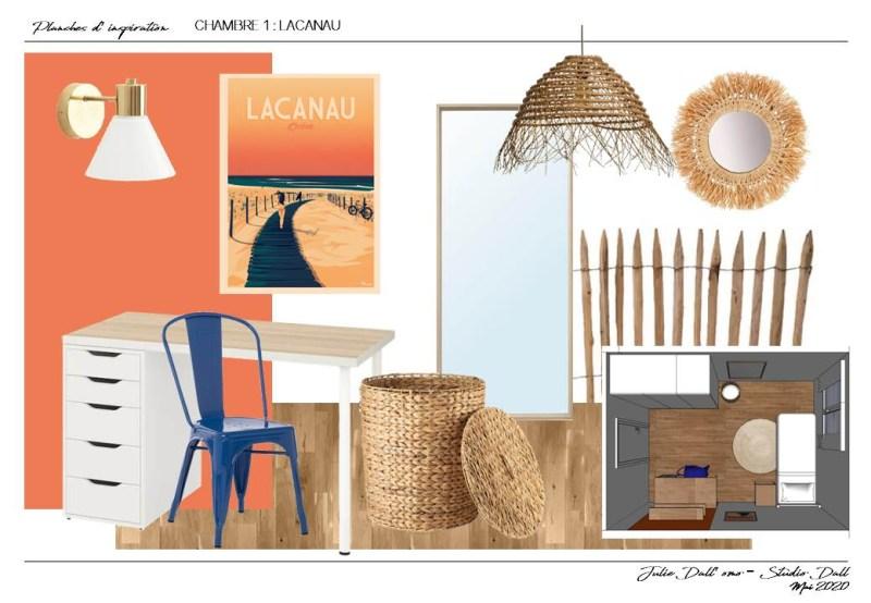 Chambre Lacanau