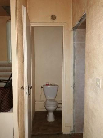 les petits WC...avant