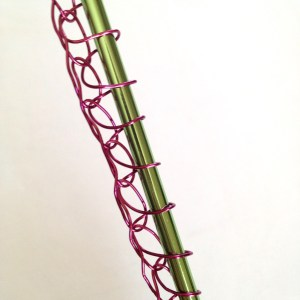 Tunisian Wire Crochet
