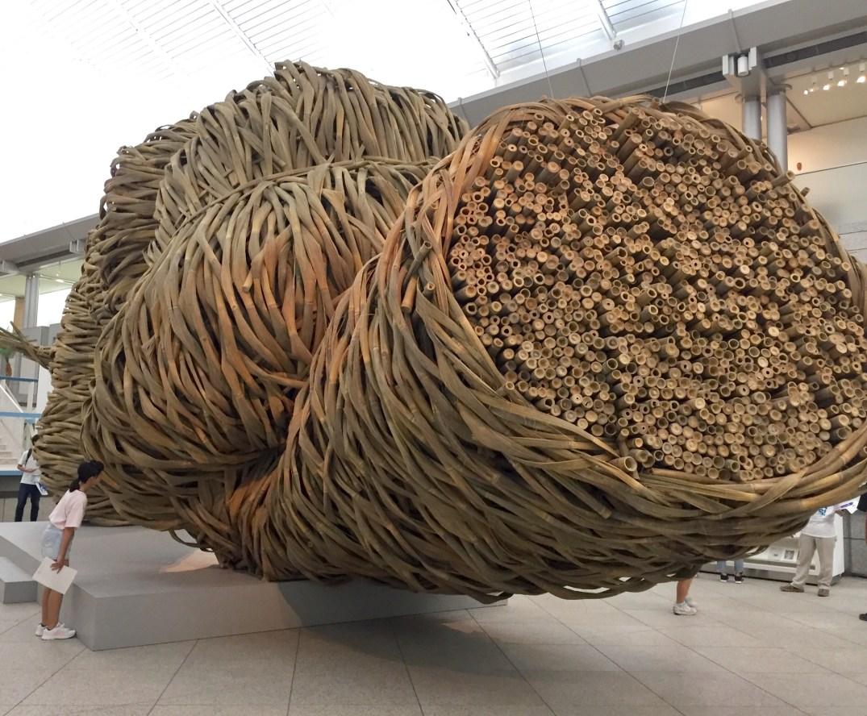 Bamboo Sculpture by Joko Avianto