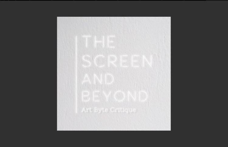 Title page to The Screen and Beyond video
