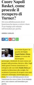 Crioterapia Laserterapia yag e frems per Elston Turner basket Napoli