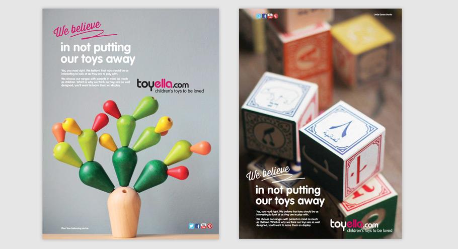 toyella press ads