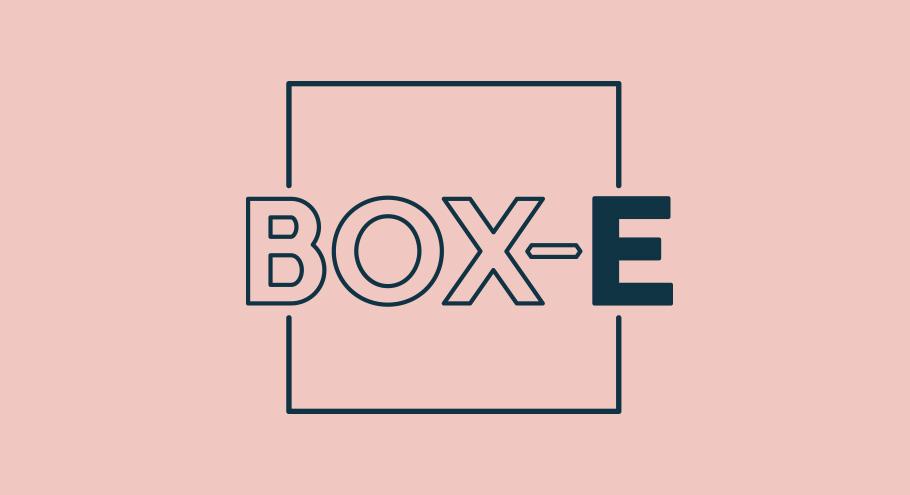 Box e bristol pink logo