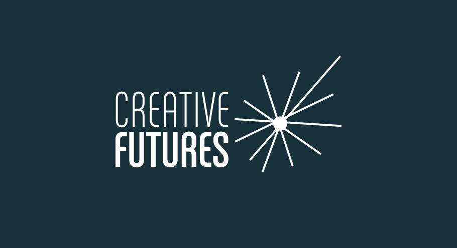 creative futures logo in white