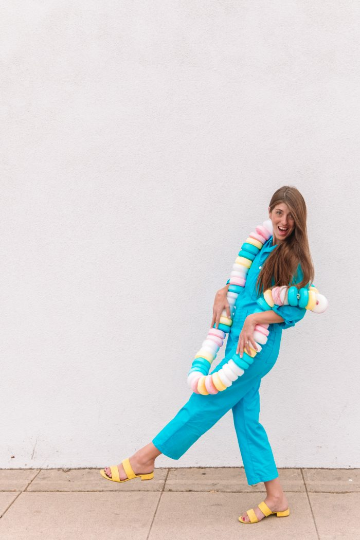 Female in a superhero costume. Diy Food Halloween Costumes 30 Ideas For Any Age Studio Diy