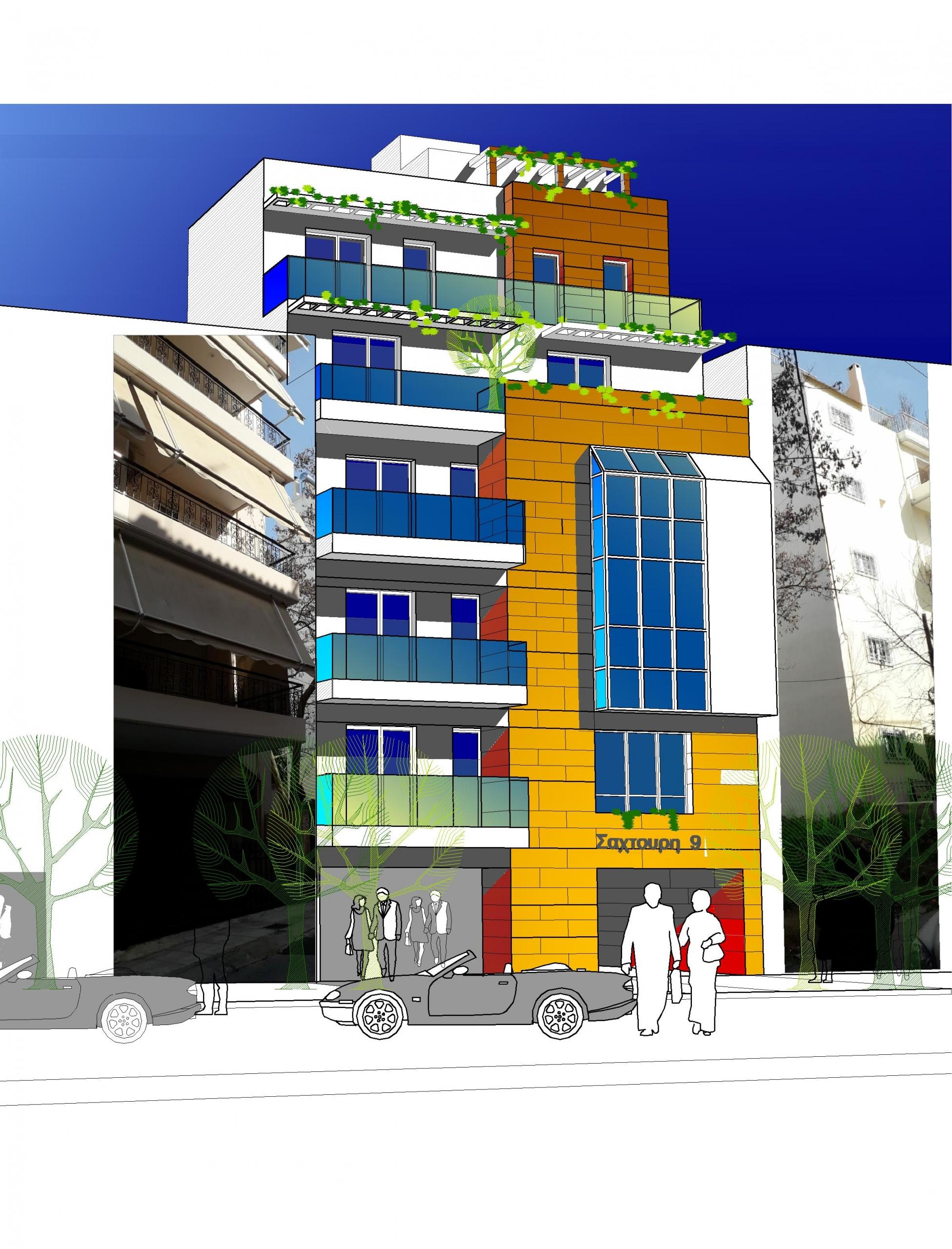 Apartment Complex in N Smirnis