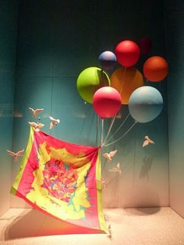 escaparate para volar con la imaginación