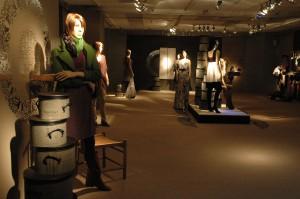 Los espacios del showroom se trabajaron representando diferentes ambientes de la colección