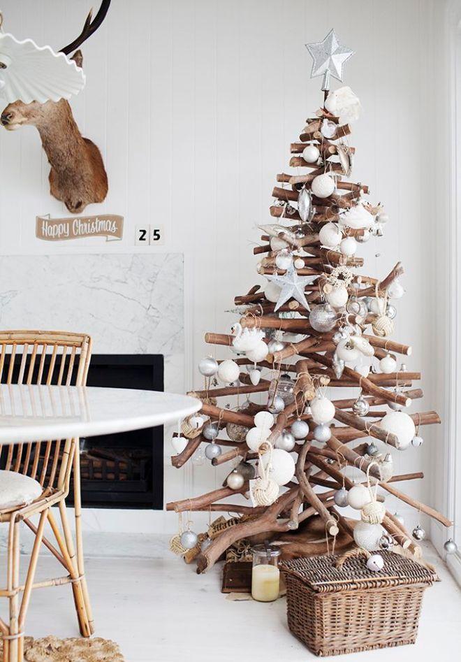 árboles de navidad llenos de encanto