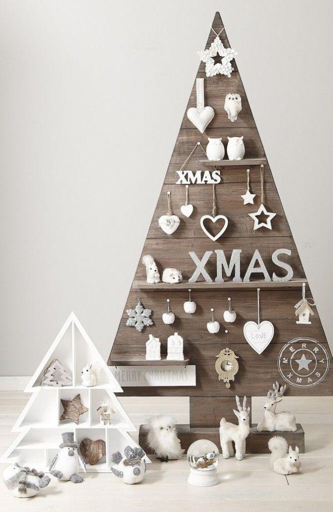 árboles de navidad originales con estilo nórdico