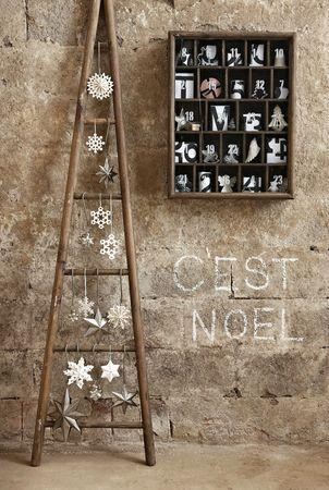 árboles de navidad con motivos nórdicos