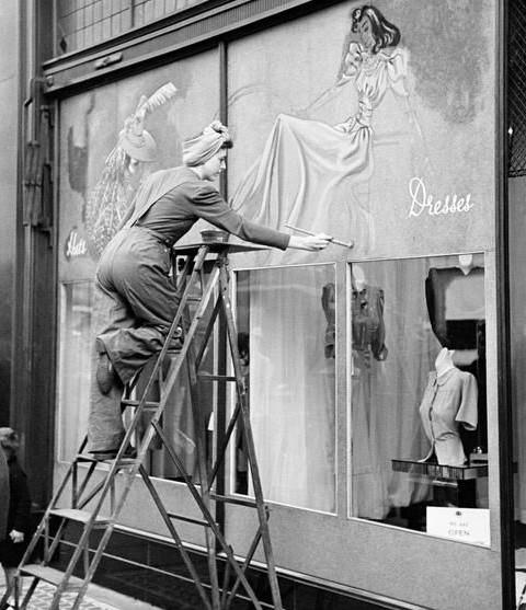 Los escaparates de los años 1900 en Londres