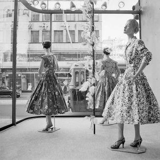 Escaparate de los años 1950 en Londres