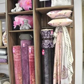 Mini-Colección en panel ropa de hogar