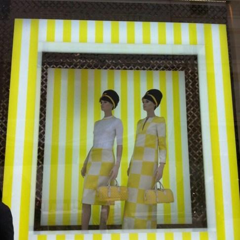 Escaparates para las colecciones de moda de verano