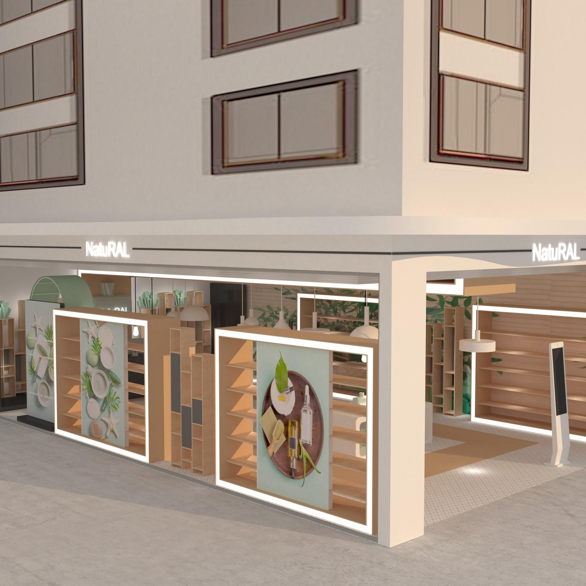 Diseño de tienda - equipamiento y mobiliario - escaparatismo y merchandising