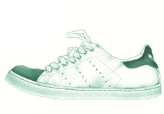 stan smith side