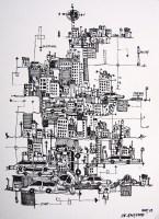 die-stadtkarte-lyscontrast-en-illustration-af-kunstner-marianne-stenberg