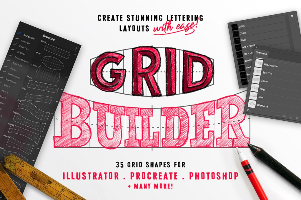 Grid Builder for The Procreate App
