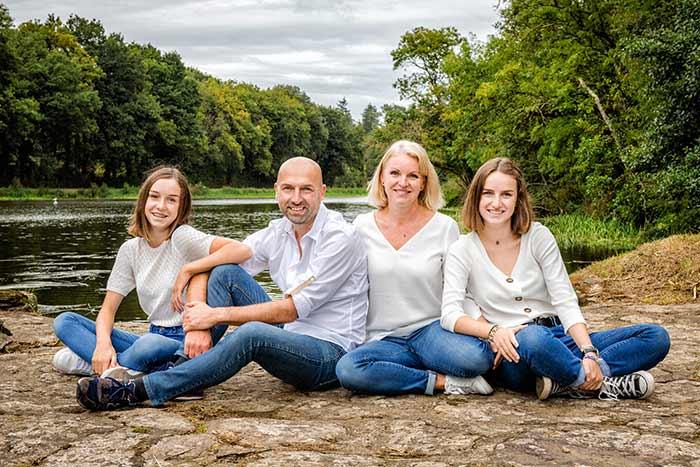 Photographie famille Studio Faucher Janzé Brie
