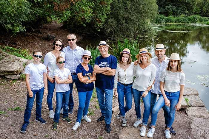 Photographie famille Studio Faucher Janzé Amanlis